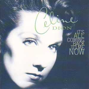 Celine DION - It's All Coming Back To Me Now 2-track Card Sleeve