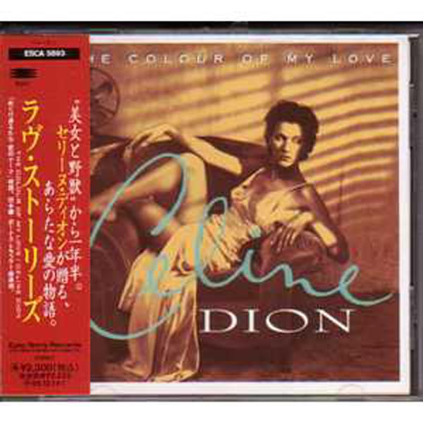 CÉLINE DION - The colour of my love Press japon 15 Tracks - CD
