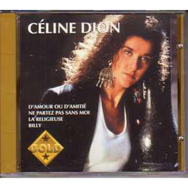 CÉLINE DION - Gold Vol 1 1ere pochette - CD