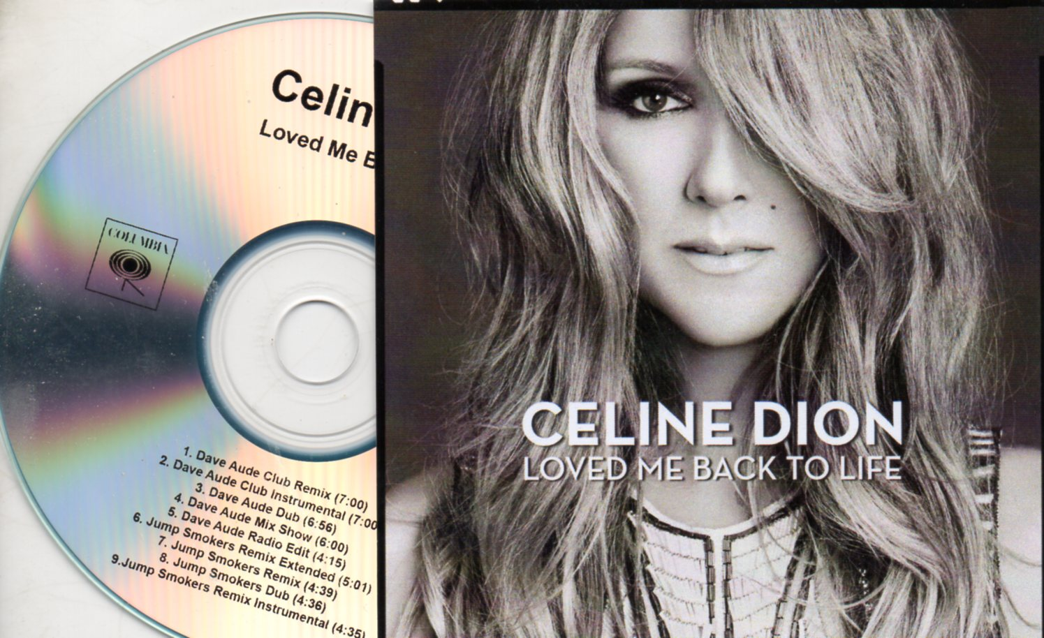 Celine DION - Because You Loved Me Cassette Single