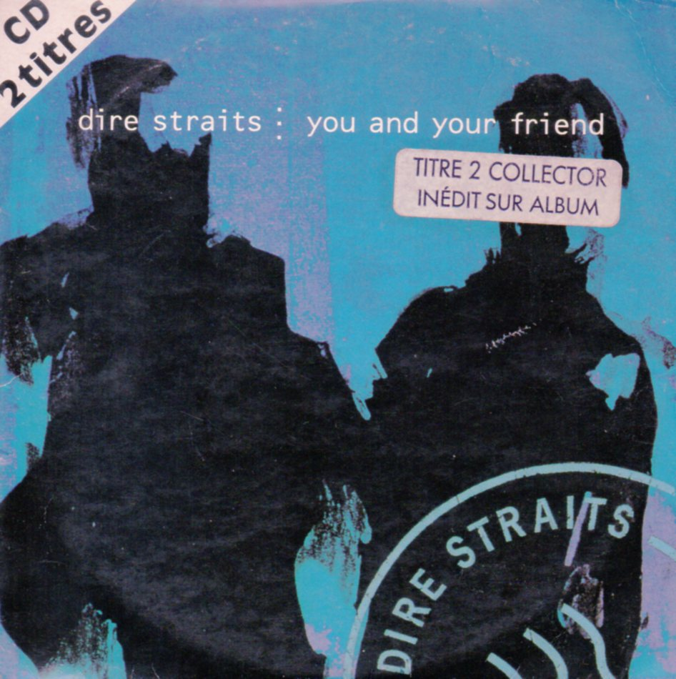 DIRE STRAITS - You and your friend 2-track CARD SLEEVE - CD single