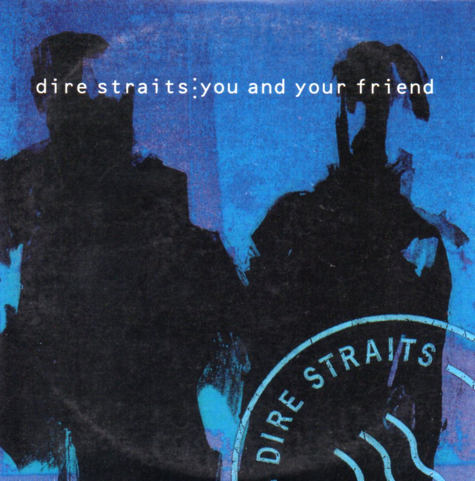 DIRE STRAITS - You and your friend French Promo 1-track CARD SLEEVE - CD single