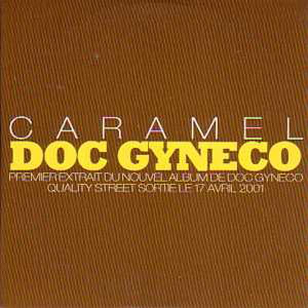 DOC GYNECO - Caramel Promo 1 Track CARD SLEEVE - CD single