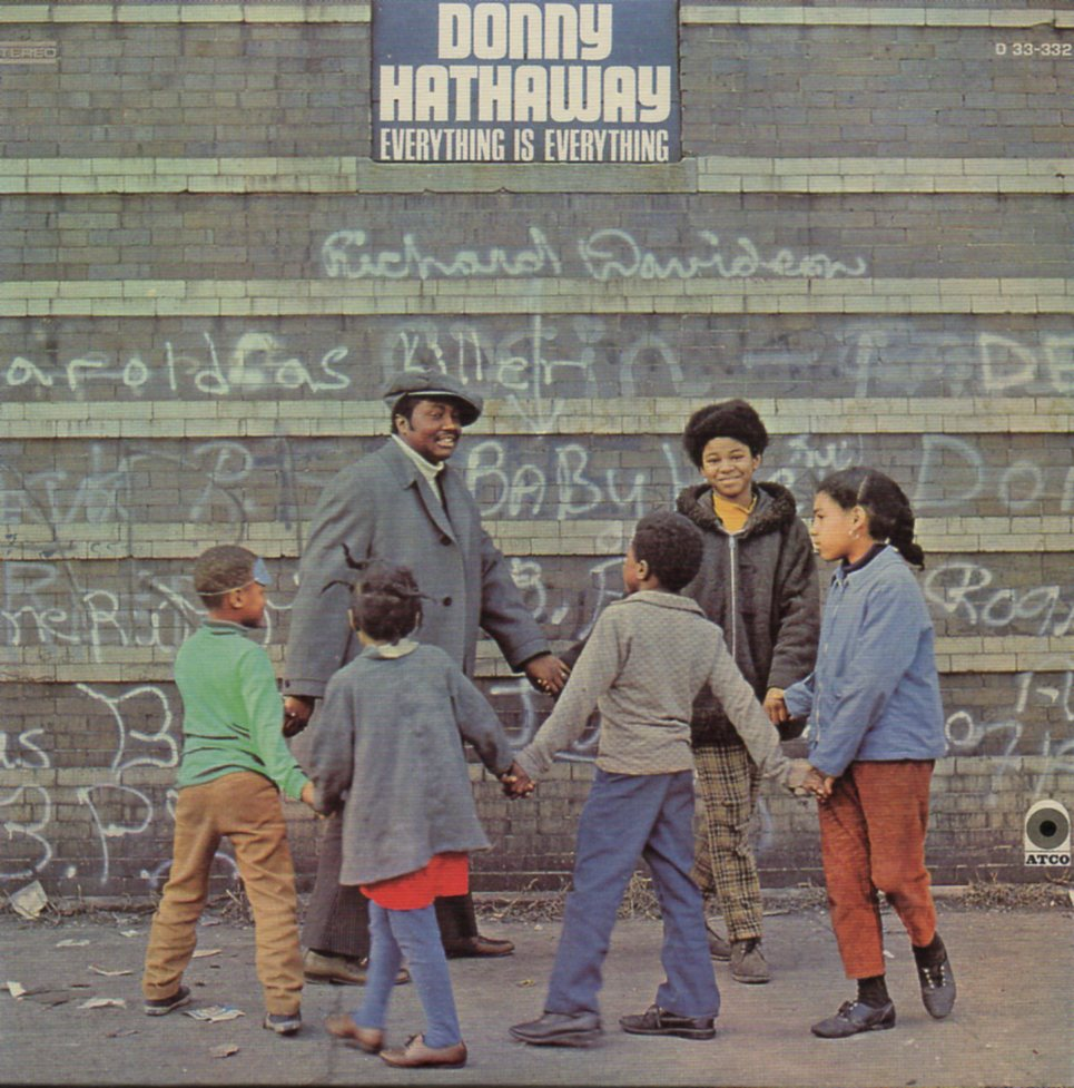 DONNY HATHAWAY - Everything is everything - MINI LP REPLICA CARD SLEEVE - CD