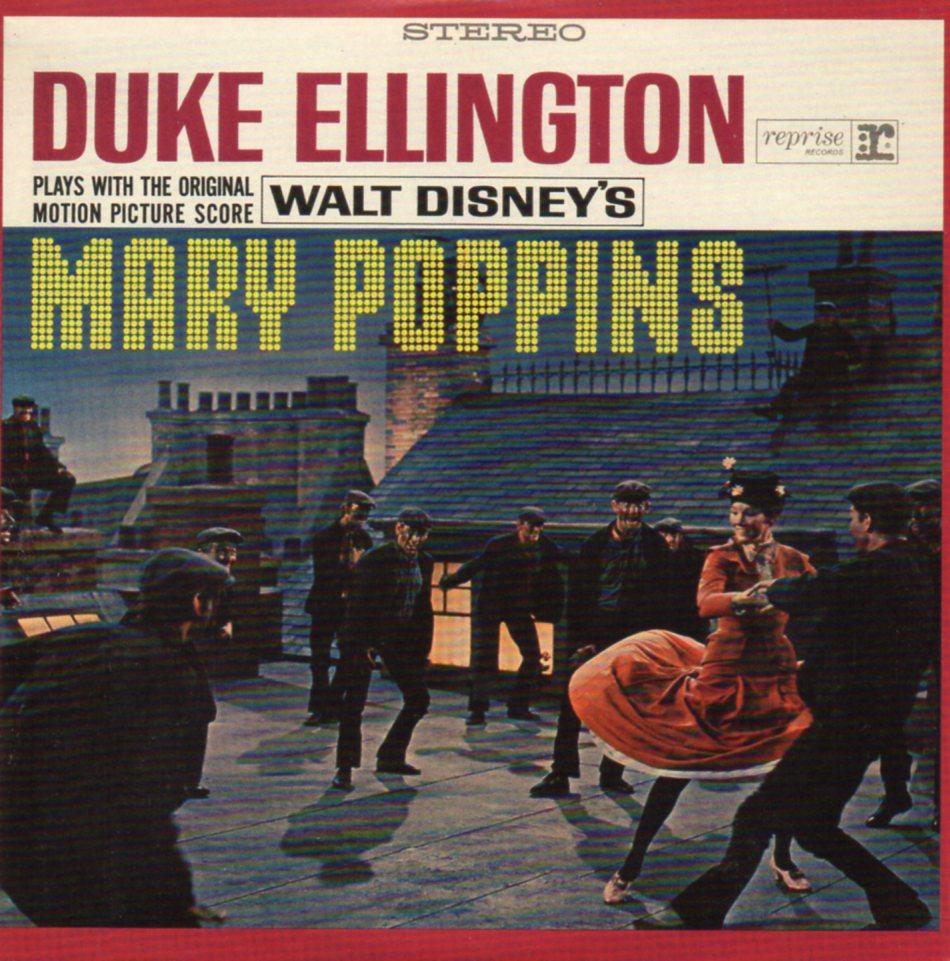 DUKE ELLINGTON - WALT DISNEY - Mary Poppins - MINI LP - 12-TRACK CARD SLEEVE - Pochette Cartonnée - CD