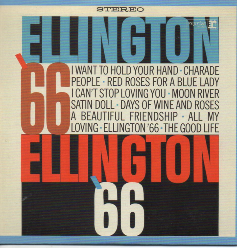 Duke ELLINGTON - Ellington '66 - Mini Lp - 12-track Card Sleeve - Pochette Cartonnée