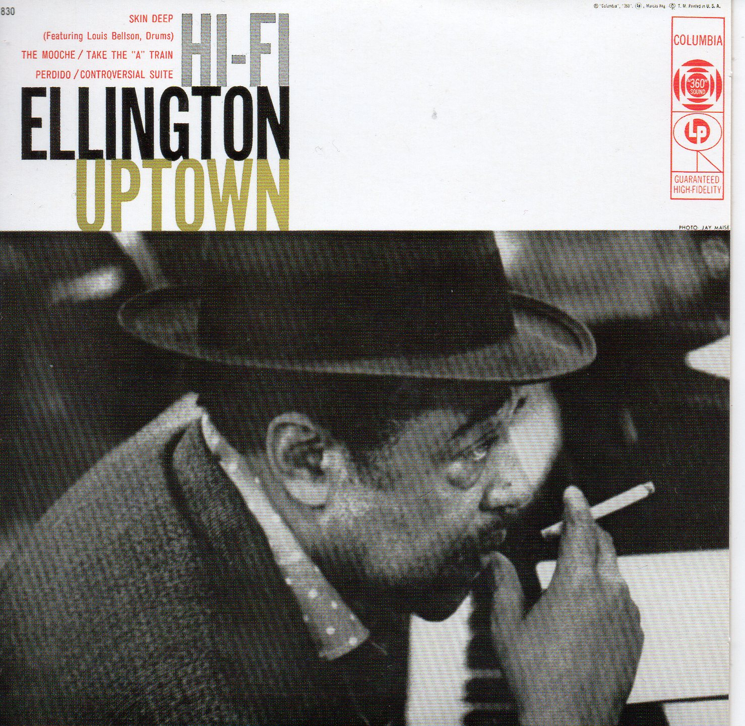 Duke ELLINGTON - Ellington Uptown - Mini Lp - 13-track Card Sleeve - Pochette Cartonnée