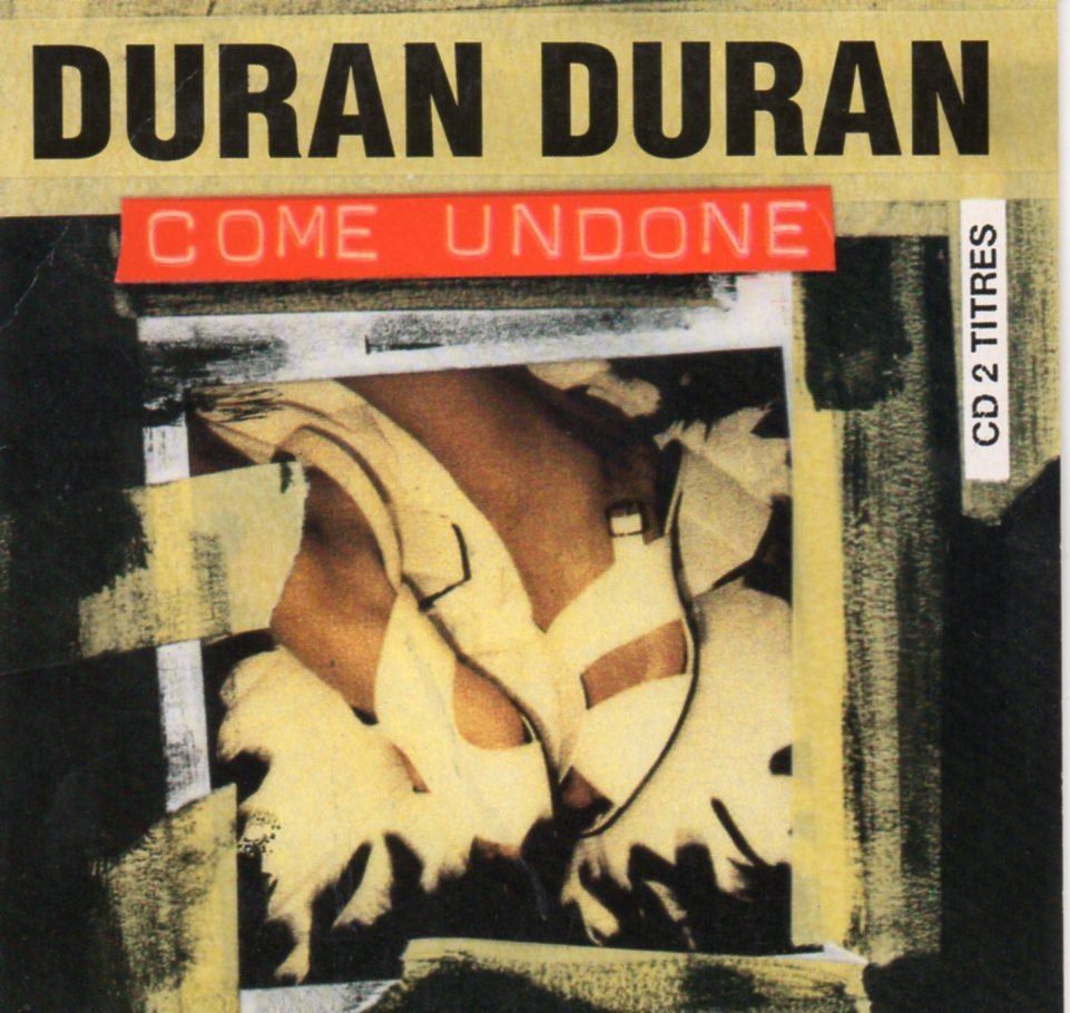 DURAN DURAN - Come Undone 2-track CARD SLEEVE - CD single