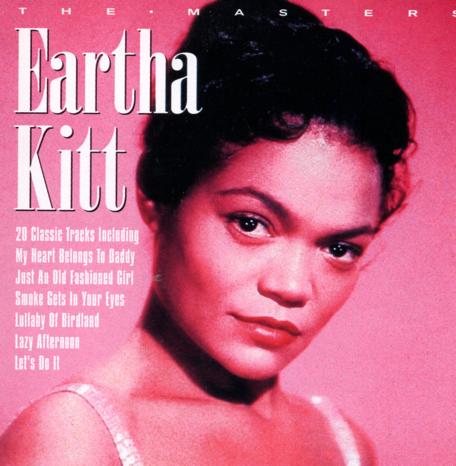 EARTHA KITT - The masters 20-track - CD