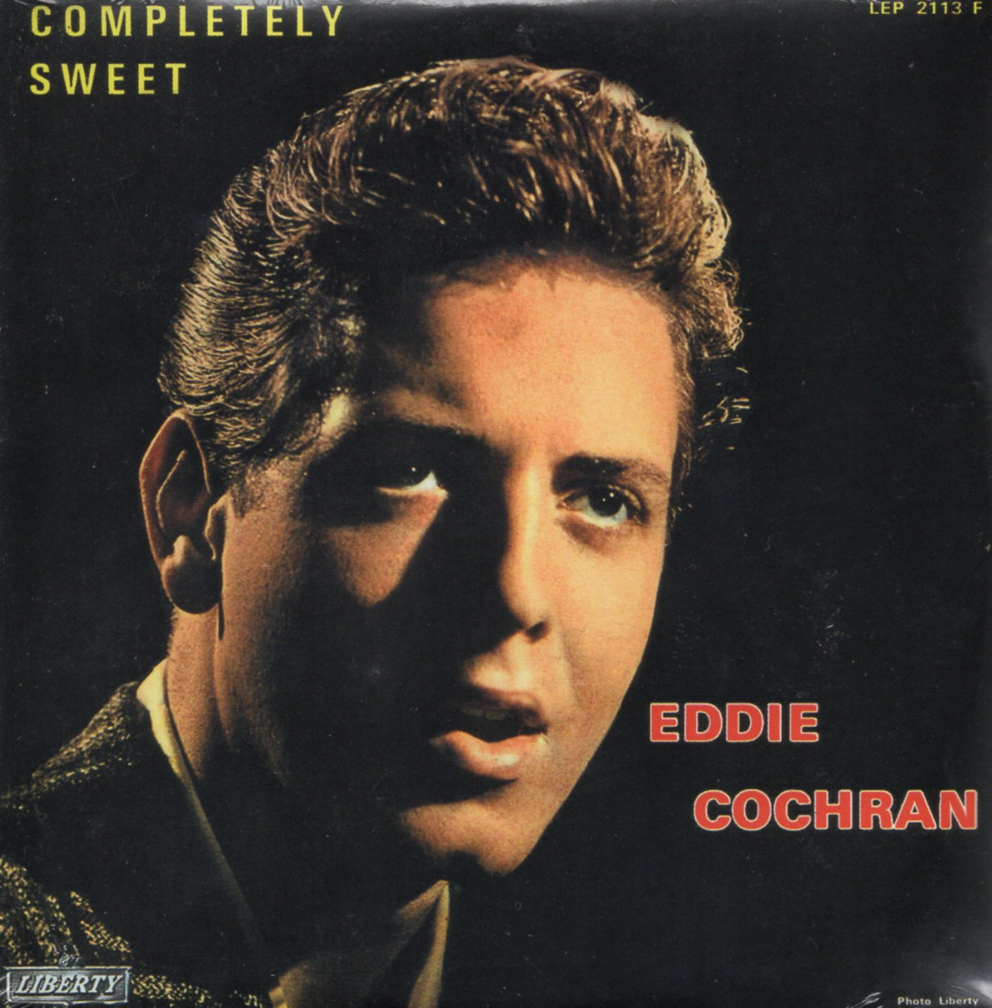 EDDIE COCHRAN - Completely Sweet 4-track CARD SLEEVE - CD single