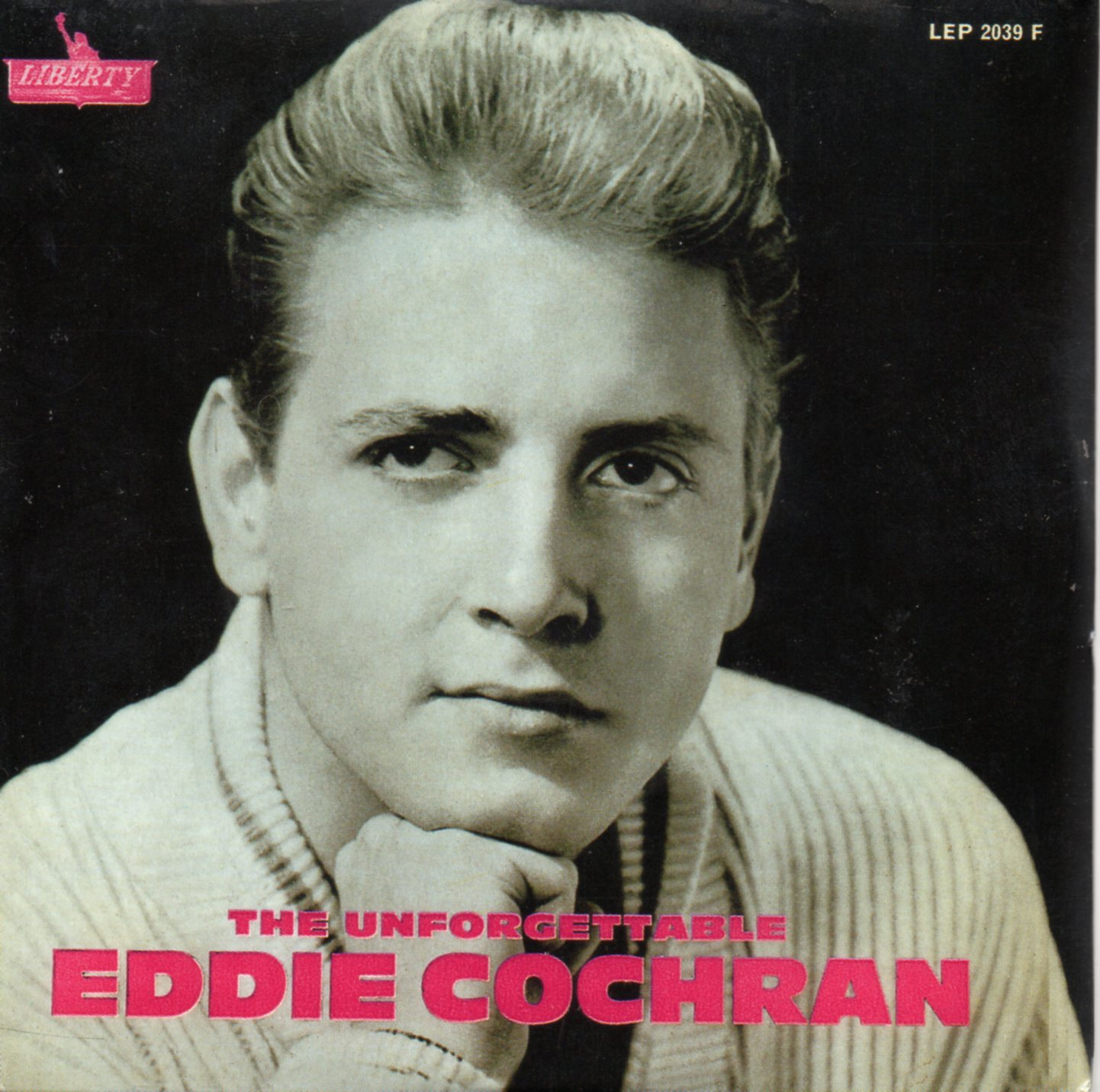 EDDIE COCHRAN - The unforgettable 4-track CARD SLEEVE - CD single