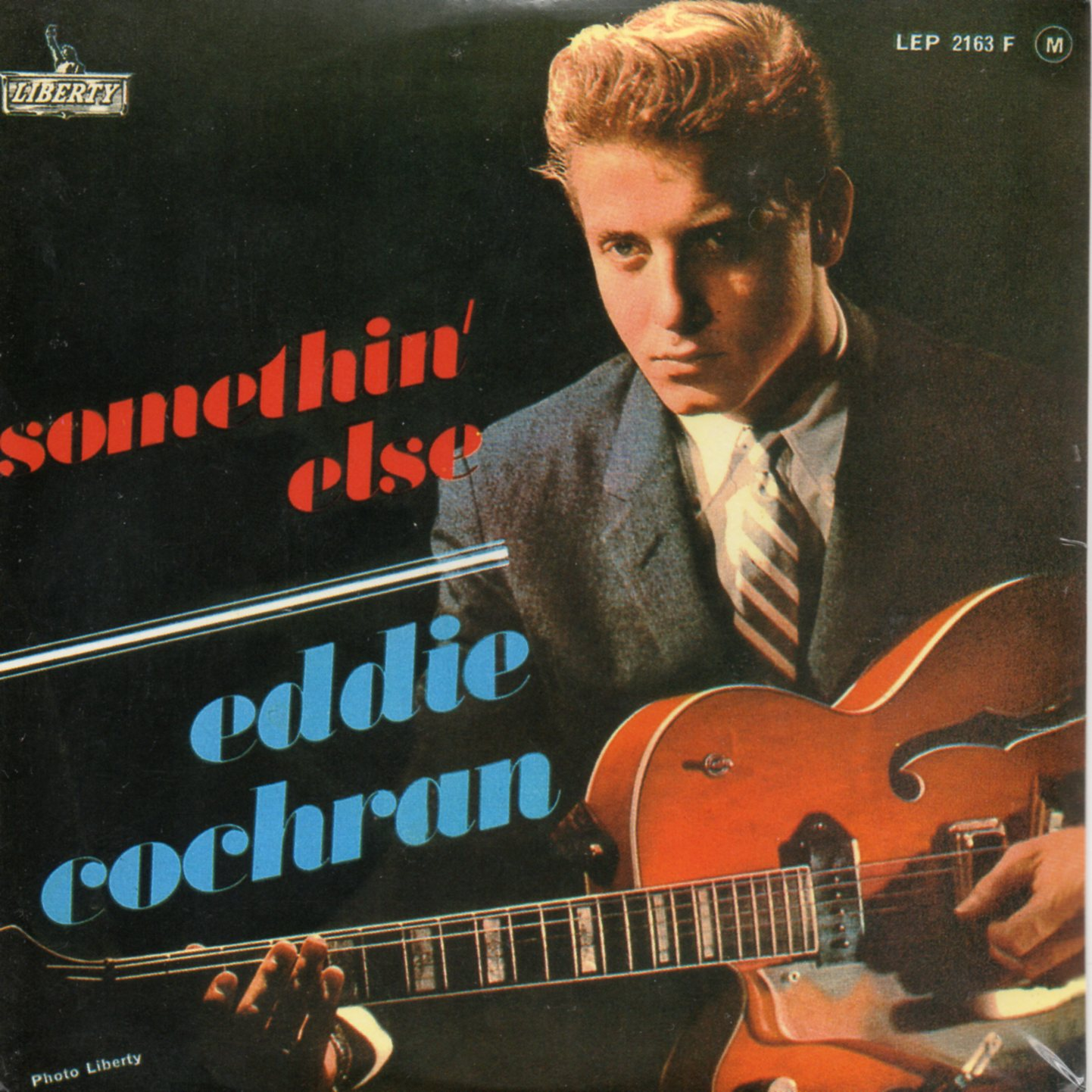 Somethin' Else 4-track Card Sleeve Reissue Original 60s Ep ! Rare !! - Eddie COCHRAN