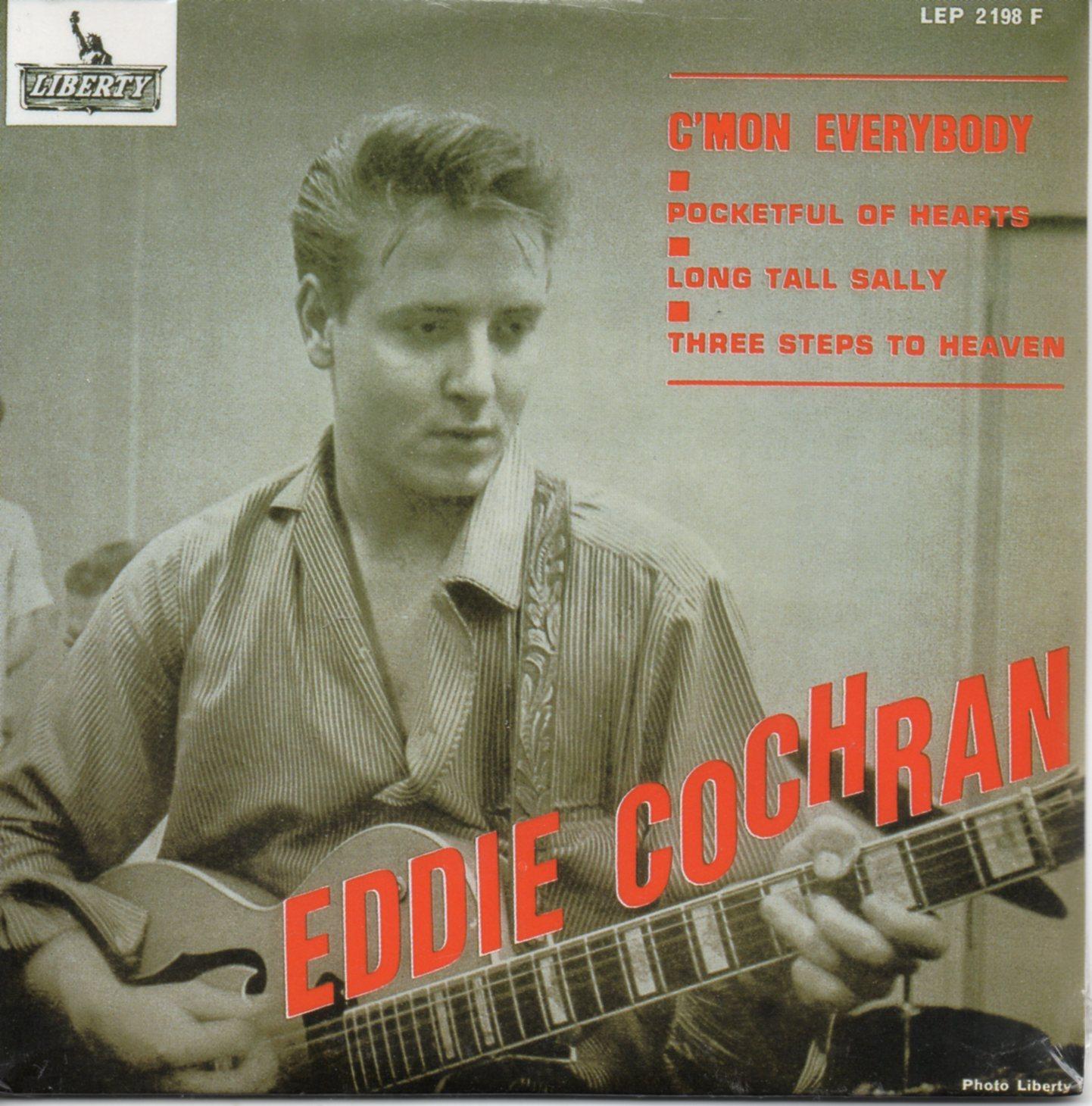 Eddie COCHRAN - C'mon Everybody 4-track Card Sleeve
