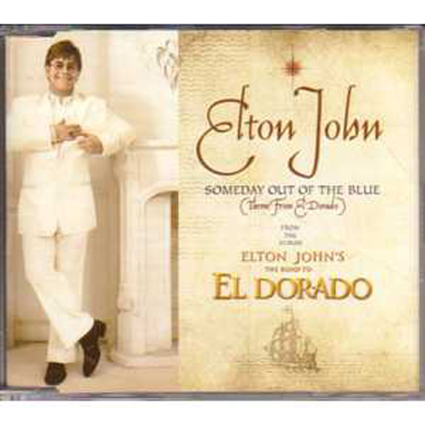 Elton JOHN - Someday Out Of The Blue Promo 2 Tracks Jewel Case