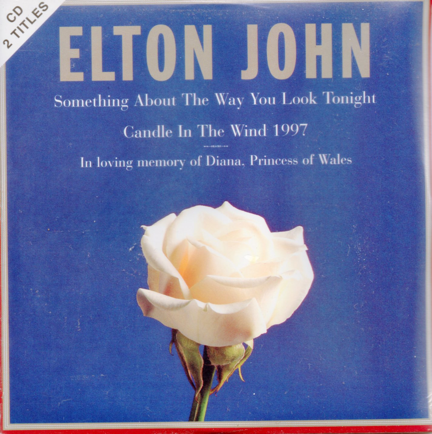 ELTON JOHN - Candle in the wind 1997 2-Track CARD SLEEVE - CD single
