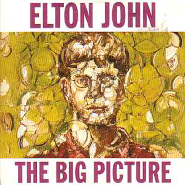 Elton JOHN - The Big Picture Promo Album 11 Tracks Card Sleeve