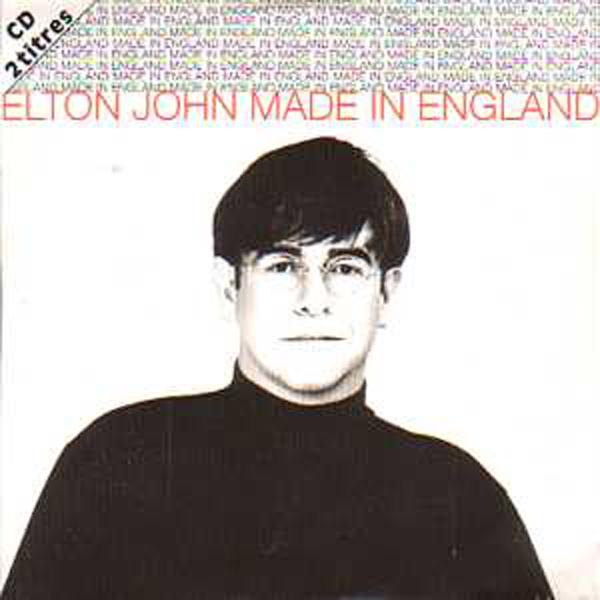 Elton JOHN - Made In England 2 Tracks Card Sleeve