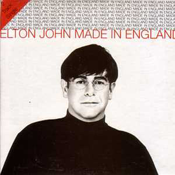 Elton JOHN - Made In England Card Sleeve 2 Tracks Australia