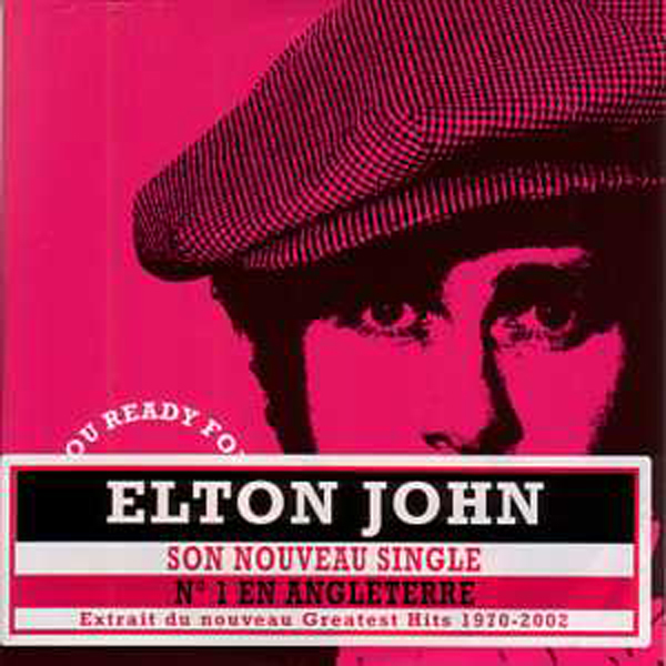 Elton JOHN - Are You Ready For Love 2 Tracks Card Sleeve