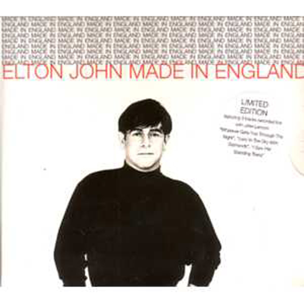 Elton JOHN - Made In England Ltd Ed 4-track
