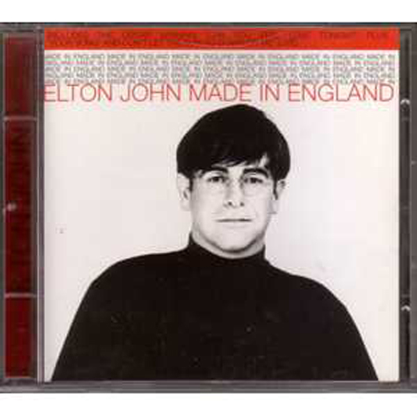 Elton JOHN - Made In England 4-track Jewel Case