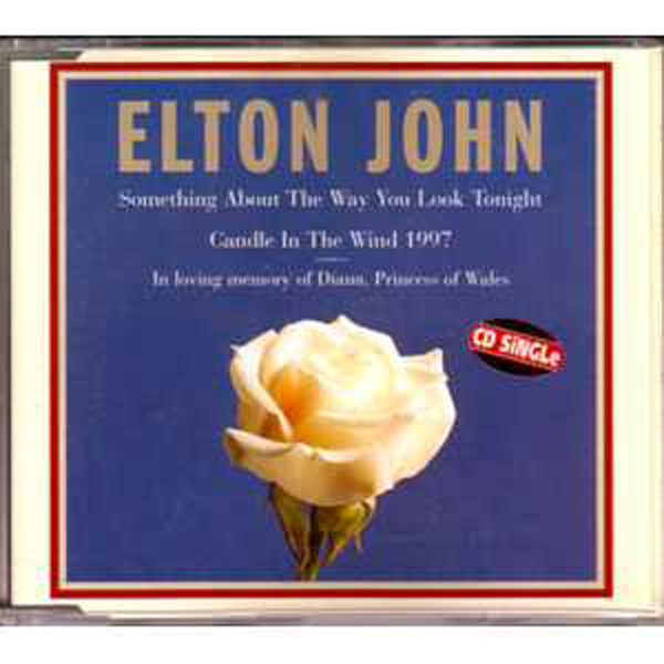 ELTON JOHN - Something About The Way You Look Tonight  3-track jewel case BRAZIL - CD Maxi