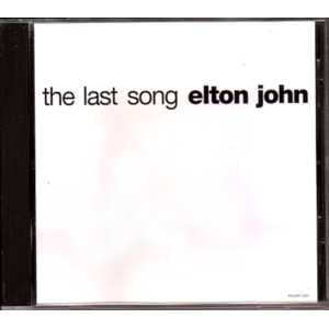 Elton JOHN - The Last Song Us Promo 1-track Jewel Case