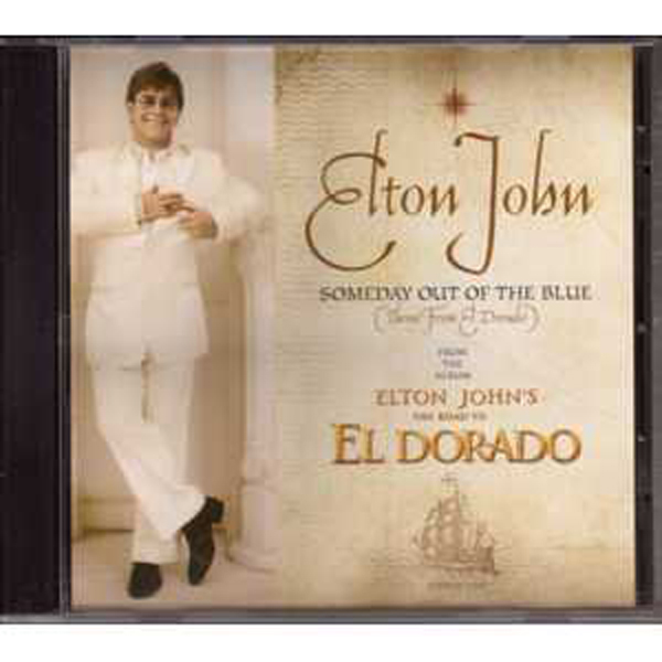 Elton JOHN - Someday Out Of The Blue Us Promo 2-track Jewel Case