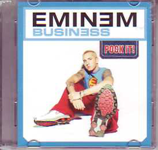 EMINEM - Business 'pock It!' Ltd Ed 2-track 3&quot;