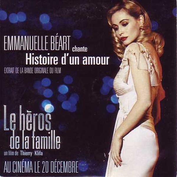EMMANUELLE BÉART - L'histoire d'un amour 1-track CARD SLEEVE - CD single