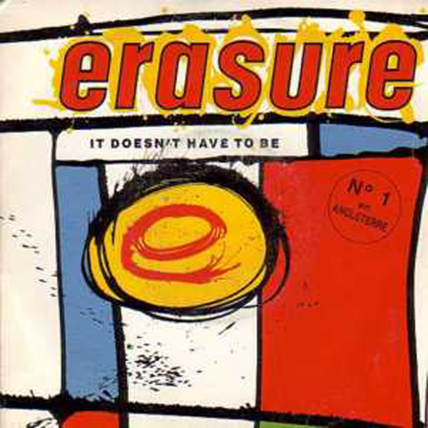 ERASURE - It Doesn't Have To Be LP
