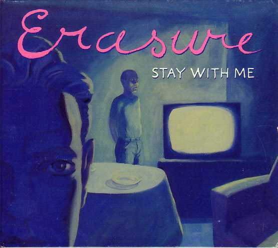 ERASURE - Stay With Me 4-track Digipack - Australia
