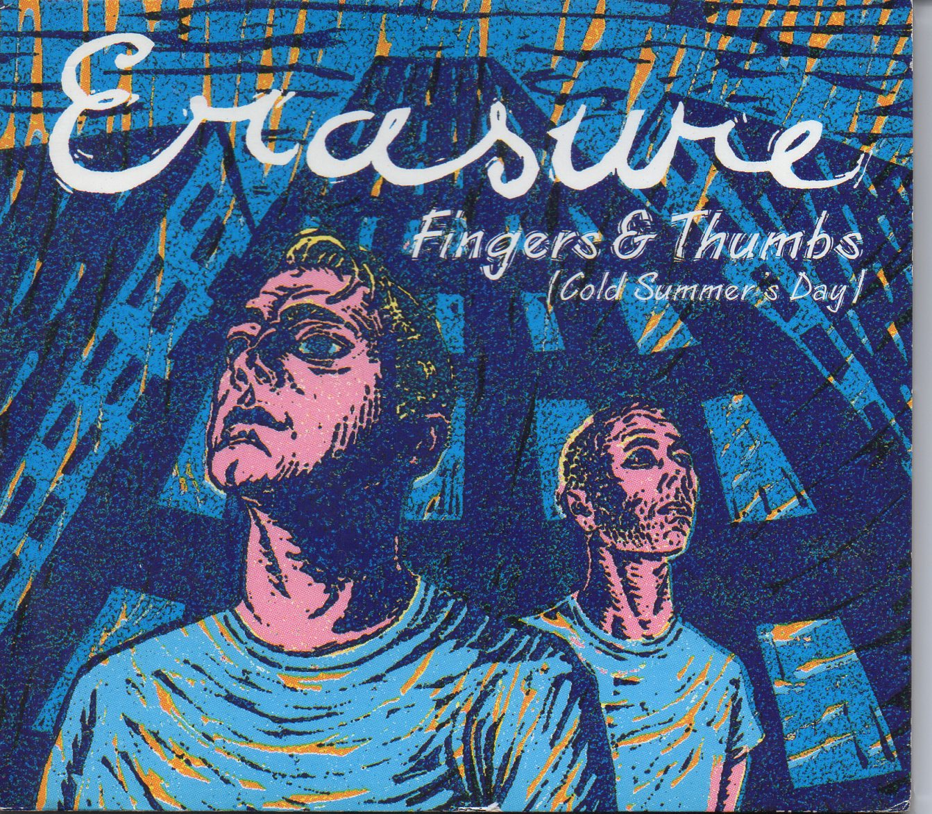 ERASURE - Fingers & Thumbs 4-track Digipack - CD Maxi