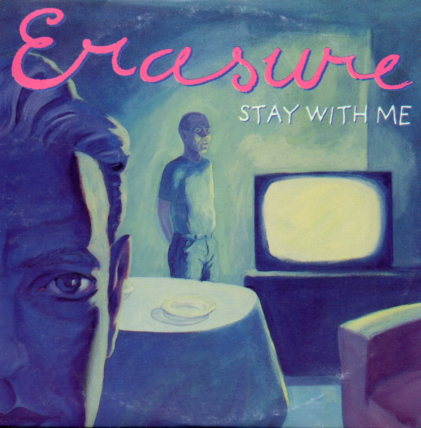 ERASURE - Stay With Me 2-track Card Sleeve