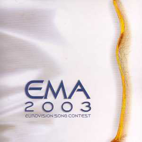 EUROVISION 2003 SLOVENIE : VARIOUS - Ema 2003 Promo 16 Tracks / Slovene final - CD single