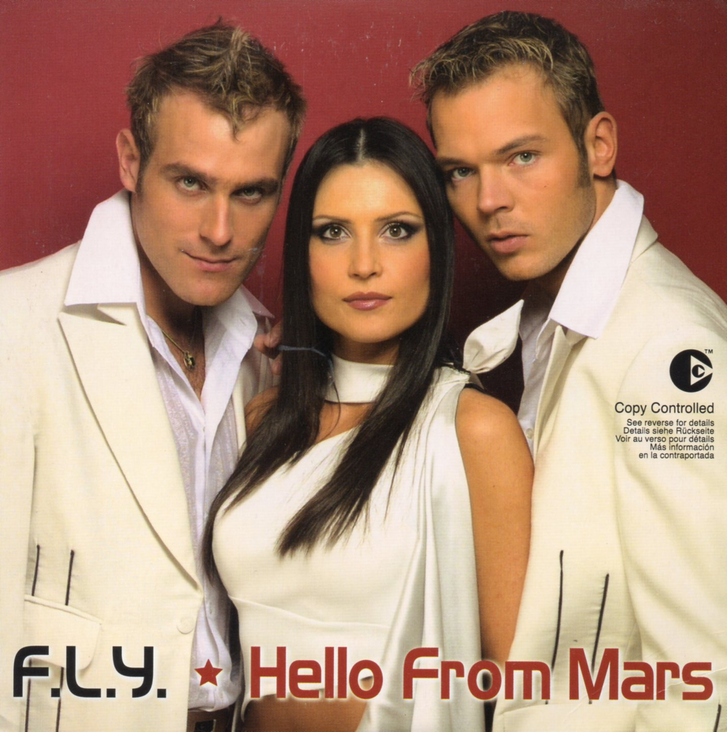 EUROVISION 2003 LETONIE : FLY - Hello from Mars 4-Track CARD SLEEVE - CD single