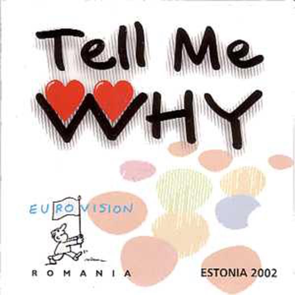 EUROVISION 2002 ROUMANIE : MONICA ANGHEL & MARCEL  - Tell me why Promo - CD single
