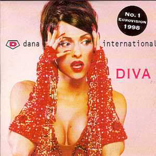 EUROVISION 1998 ISRAEL : DANA INTERNATIONAL - Diva 2 Track CARD SLEEVE 2nd sleeve - CD single