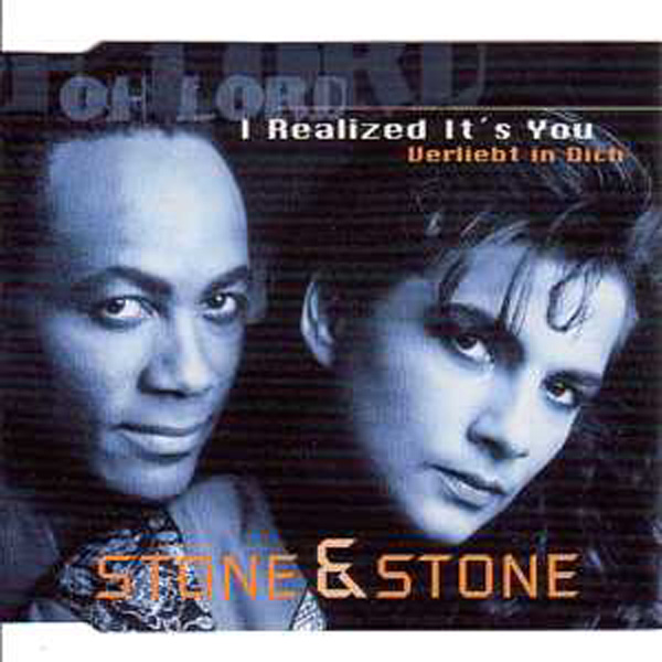 EUROVISION 1995 ALLEMAGNE : STONE & STONE - Verliebt in dich V.allemande + anglaise - CD Maxi