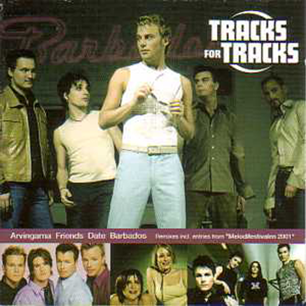 EUROVISION 2001 SUEDE PRESELECTIONS : ARVINGARNA F - Tracks for tracks Remixes from Melodiefestivalen 2001 : Friends / Arvingarna / Barbados - CD Maxi