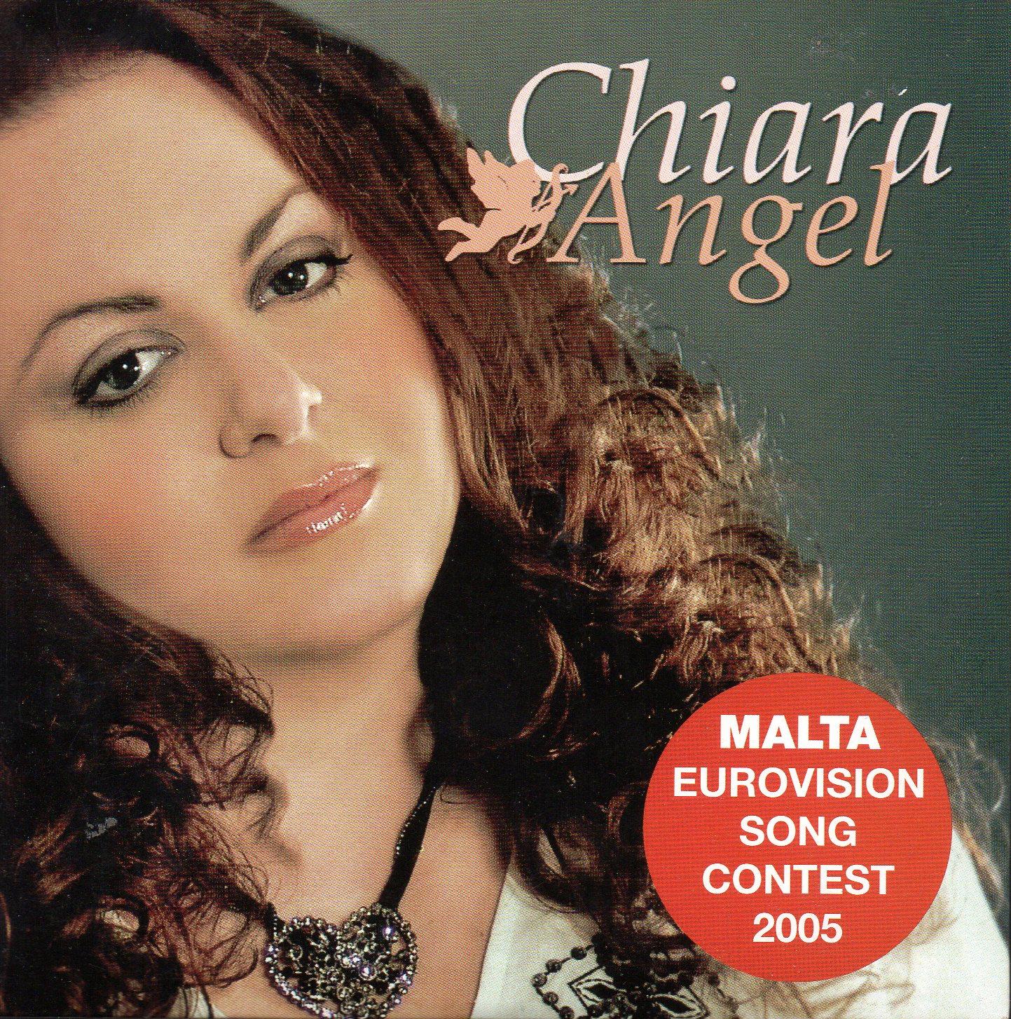 EUROVISION 2005 MALTE : CHIARA - Angel 2-track CARD SLEEVE - CD single