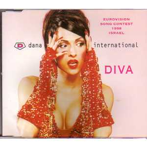 EUROVISION 1998 ISRAEL : DANA INTERNATIONAL - Diva 2-track jewel case - MCD