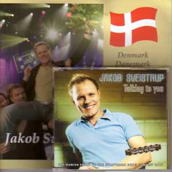 EUROVISION 2005 DANEMARK : JACOB SVEISTRUP - Talking to you 5 tracks jewel case + Press kit - CD Maxi