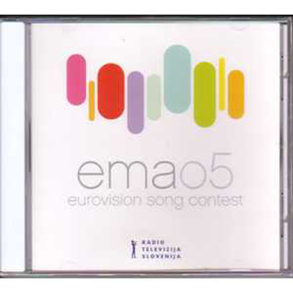 EUROVISION 2005 SLOVENIE : OMAR NABER - Ema05 14 Preselections inc Stop by Omar Naber - CD