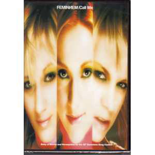 EUROVISION 2005 BOSNIE : FEMINNEN - Call me Promo CD + DVD - CD Maxi