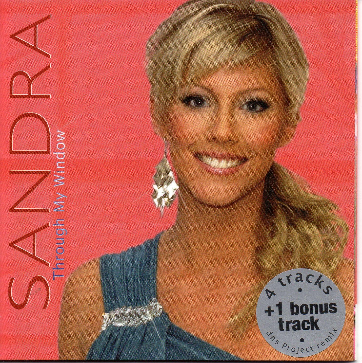 EUROVISION 2006 ESTONIE : SANDRA OXENRYD - Through the window 5-track CARD SLEEVE - CD single