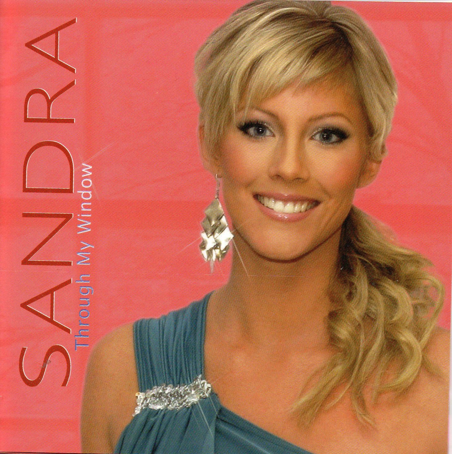 EUROVISION 2006 ESTONIE : SANDRA OXENRYD - Through the window 2-track CARD SLEEVE - CD single
