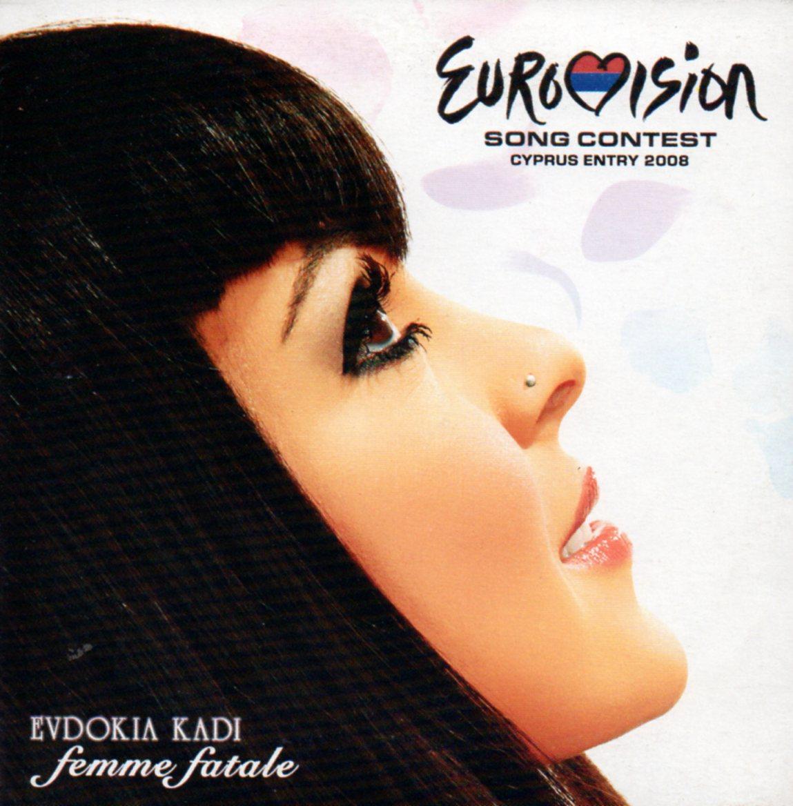 EUROVISION 2008 CHYPRE : EVDOKIA KADI - Femme Fatale 5-track CARD SLEEVE - CD single