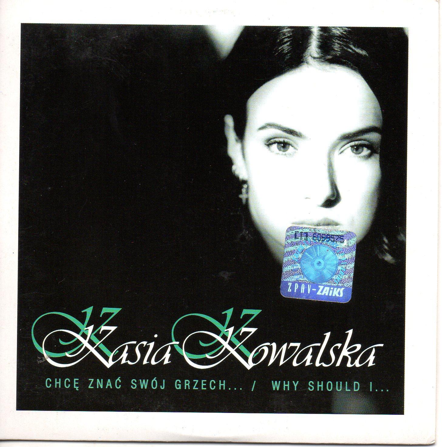 EUROVISION 1996 POLOGNE : KASIA KOWALSKA - Chc? Zna? Swój Grzech... 3-track CARD SLEEVE - CD single