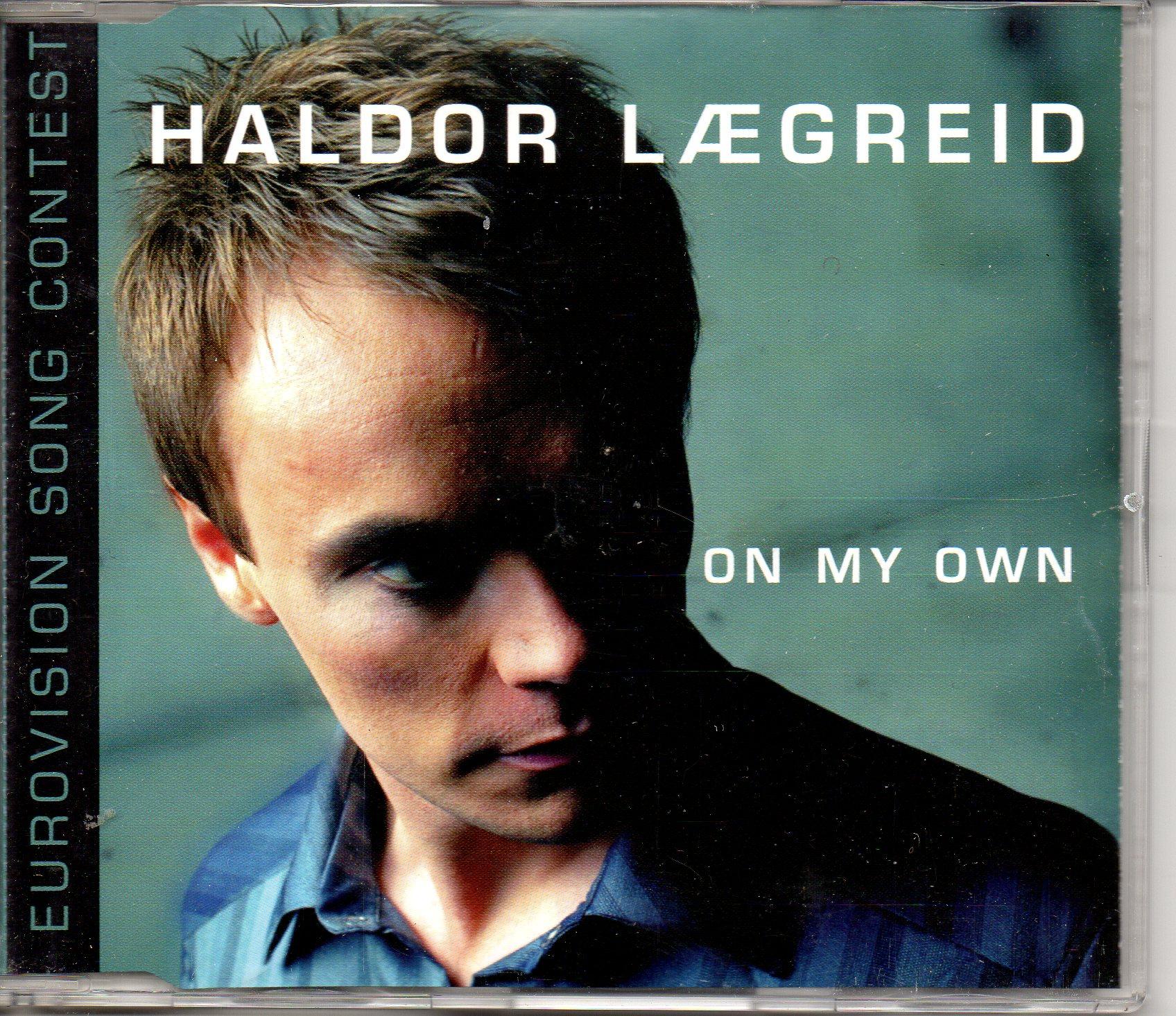 EUROVISION 2001 NORVÈGE : HALDOR LÆGREID - On my own 2-track Jewel case - CD Maxi